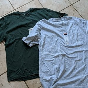 Two brand new Dickies t-shirts